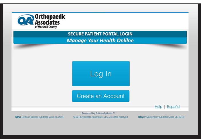 Orthopaedic Associates of Marshall County